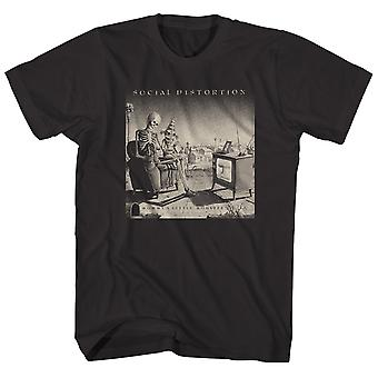 Social Distortion T Shirt Mommy's Little Monster Album Art Social Distortion Shirt