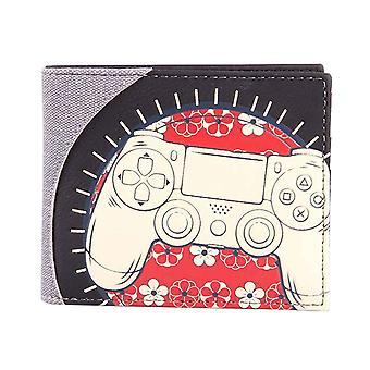 Playstation Wallet Biker Console Logo new Official Bifold