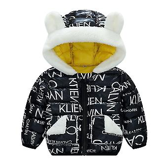 Autumn, Winter Jacket For Baby - Hooded Warm Outerwear Clothes