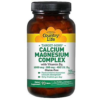 Livet på landet Kalcium Magnesium Complex, Vitamin D3 90 Tabs