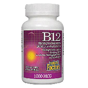 Natural Factors B12 Methylcobalamin, 180 tabs