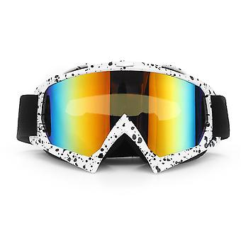 Anti-UV Dust Snow Glasses Goggles For Motorcycle Motocross Ski Racing