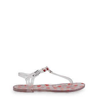 Love moschino ja1602 women's rubber sandals