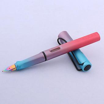 أزياء اللون التدرج، EF Nib، أورورا نافورة القلم لمكتب القرطاسية،