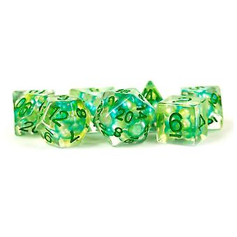 MDG Resin Pearl Poly Dice Set 16mm