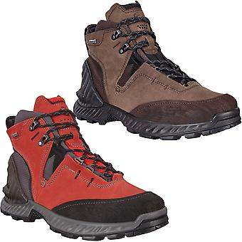 Ecco Mens Exohike Gore-Tex Leather Outdoors Walking Hiking Trekking Boots