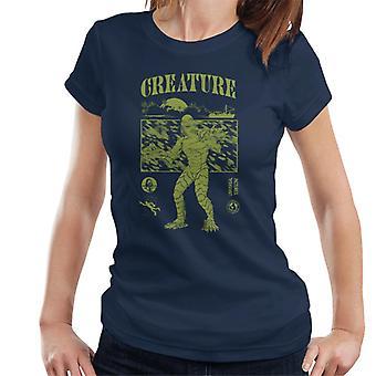A Criatura da Lagoa Negra Barco Sunset Mulheres 'T-Shirt