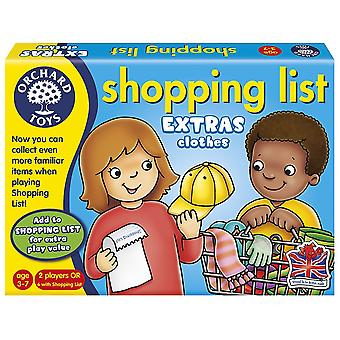 Orchard Toys Shooping List Booster Pack - Ropa - Nuevo look