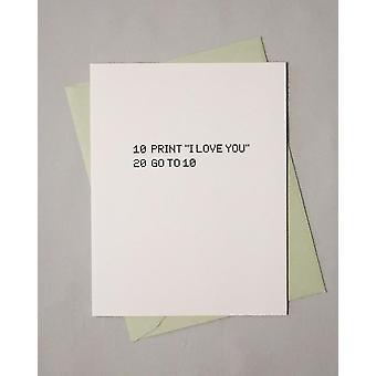 I Love Youever-kortti
