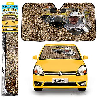 Archie mcphee - car full of bees auto sunshade