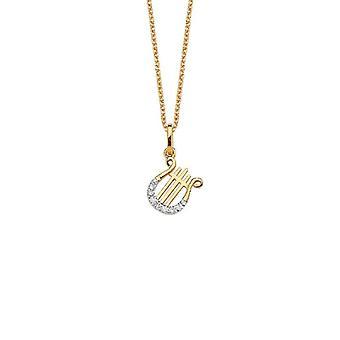 Collier de diamants harpe