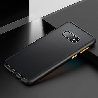 Shockproof  Frosted PC+ TPU Case for Galaxy S10e (Black)