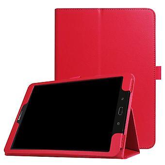 Folio leather case for Samsung Galaxy Tab 2 10.1 P5100 Scarlet