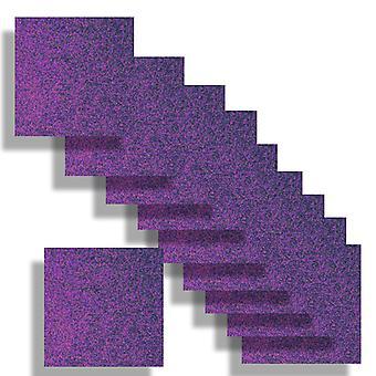 Boîte de nuit Purple Square Card Insert 140 x 140
