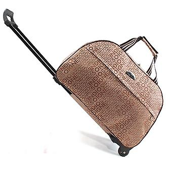Oxford Rolling Luggage Bag / Travel Suitcase With Wheels