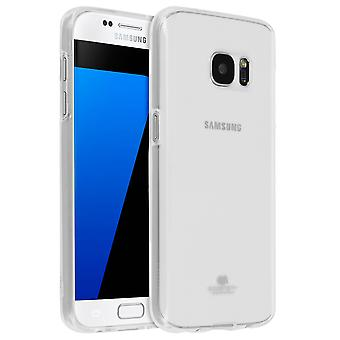 Glossy & Shiny soft case by Mercury for Samsung Galaxy S7 – Ultra clear