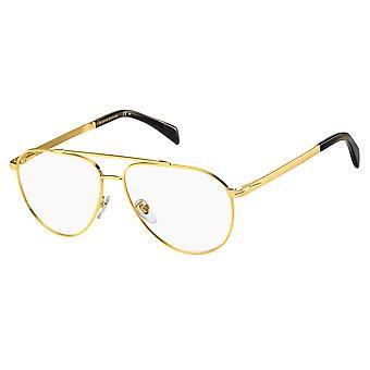David Beckham DB7023 001 Yellow Gold Glasses