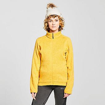 New Brasher Women's Rydal Full-Zip Fleece Yellow