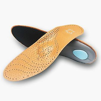 Orthèse Insole Leather Orthotics Insoles/femmes