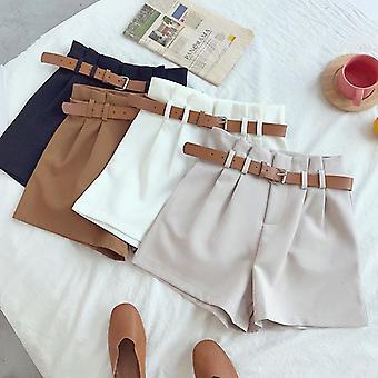 Weiße Anzug Shorts