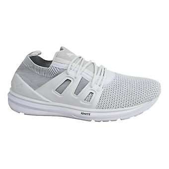 Puma B.O.G evoKNIT Lace Up White Mens Lo Shoes Trainers 363669 02 B23D