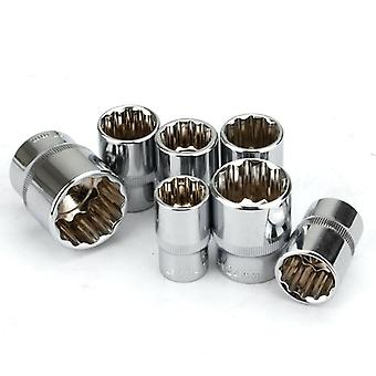 Ratchet Wrench Sockets Hand Tool Kit, Angles Plum Blossom Sleeve