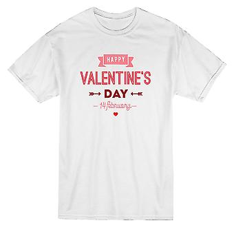 Happy Valentine's Day Star Heart T-Shirt By Shutterstock