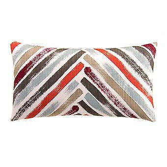 "Imperial Decorative Lumbar Pillow 22"" X 12"",  Intersection"
