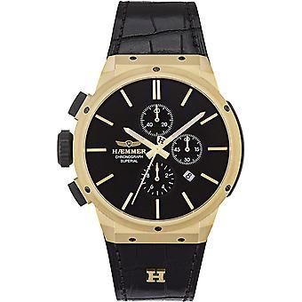 Mens Watch Haemmer HSG-4803, Quartz, 48mm, 10ATM