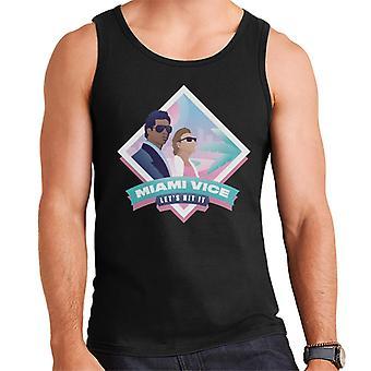 Miami Vice Lets Hit It Men's Vest