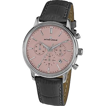 Mens Se Jacques Lemans 1-209F, Kvarts, 39mm, 5ATM