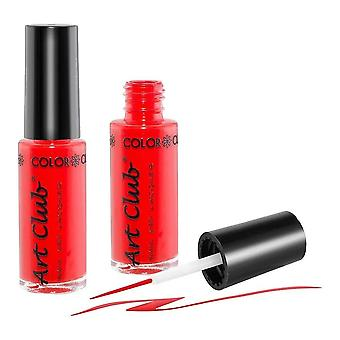 Colour Club Nail Art Striper Pen - Red On Red