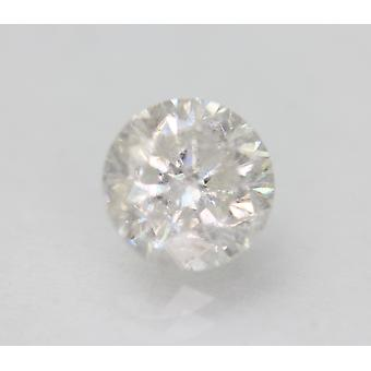 Certified 1.57 Carat F SI2 Round Brilliant Enhanced Natural Loose Diamond 7.03mm
