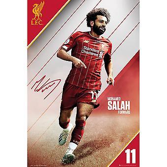 Liverpool FC Mohamed Salah Poster