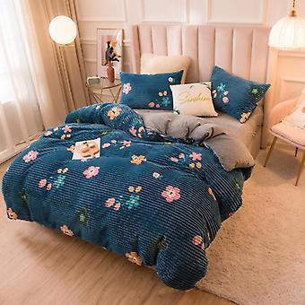Velvet Duvet, Sofa Bed Cover, Blanket - Soft Breathable Comforter Cover