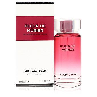 Fleur De Murier Eau De Parfum Spray By Karl Lagerfeld 3.3 oz Eau De Parfum Spray