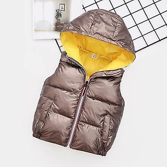 مقاومة للرياح ماء الطفل المقنع صدرية الملابس الخارجية المعاطف الشتوية