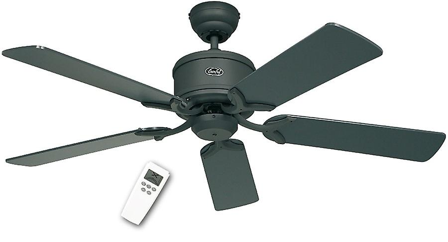 CasaFan DC ceiling fan Eco Elements Graphite with remote control in...