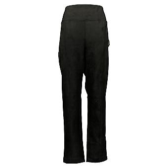 أندرو مارك المرأة & s السراويل سحب على تمتد حزام أسود