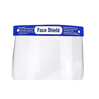 Protective Shield Anti-spittle Anti-fog Transparent Plastic Face Cover Mask