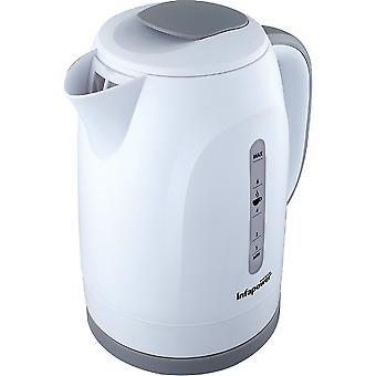 Infapower X505 1.8L 360 Degree Cordless Kettle 2200w - White UK Plug