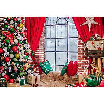 רקע חג המולד לצילום, צילום דיוקן תינוק שזה עתה נולד