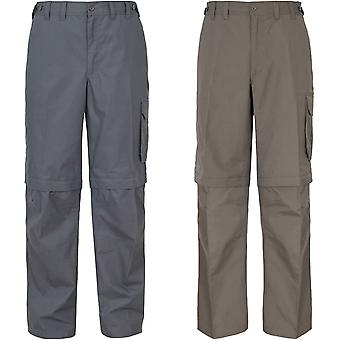 Trespass Mens Mallik Zip Off Outdoor Walking Hiking Bottoms Cargo Trousers Pants