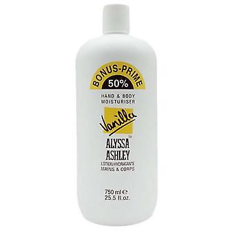 Alyssa Ashley Vainilla Hidratación de Manos y Cuerpo 750 ml