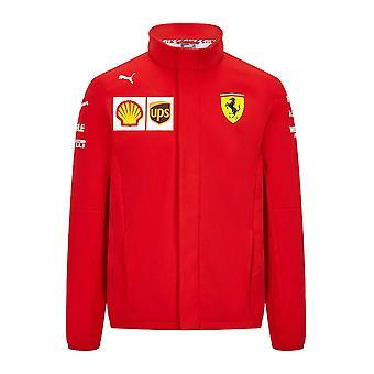 2021 Ferrari-tiimin Softshell-takki (punainen)