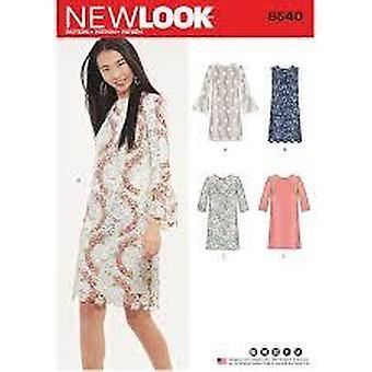 מראה חדש תפירה דפוס 6520 מתגעגע גודל השמלה 8-20 יורו 34-46