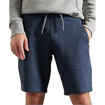 Superdry Orange Label Classic Shorts - Abyss Navy Feeder