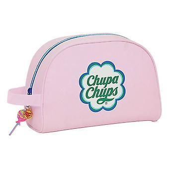 School Toilet Bag Chupa Chups Pink