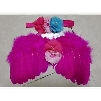 Baby Tutu Skirt, Headband Flower Headband Photo Props