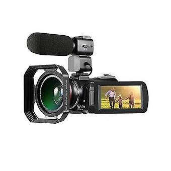 ORDRO AC3 4K WiFi デジタル ビデオ カメラ カムコーダー